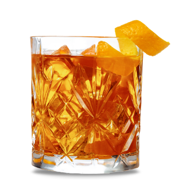 Citrus Whiskey Recipe Glass