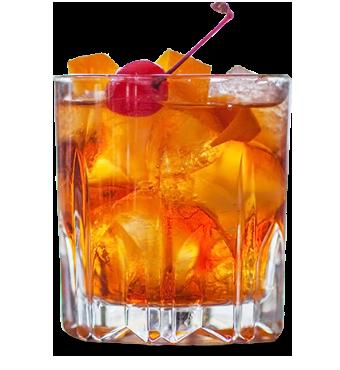 Fordham Fashioned Recipe Glass