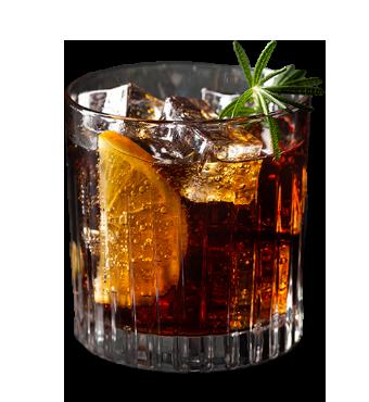 Rosemary Whiskey Recipe Glass