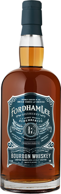 Fordham Lee Bourbon Whiskey Bottle